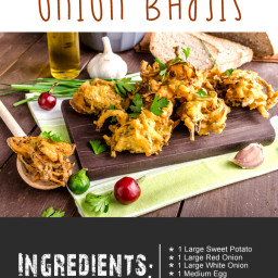 Low Calorie Healthy Onion Bhajis