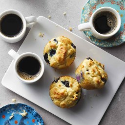 Low-Carb Blueberry Muffins Recipe