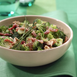Low-Carb Broccoli Salad with Bacon Recipe