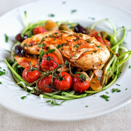 Low-carb Chicken alla Puttanesca
