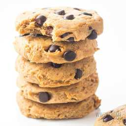 Low Carb Chocolate Chip Peanut Butter Protein Cookies Recipe