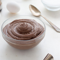 Low Carb Chocolate Pastry Cream
