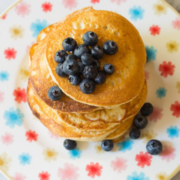 Low Carb Cloud Bread Pancakes (Ketogenic)