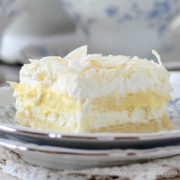 Low Carb Coconut Cream Layered Dessert