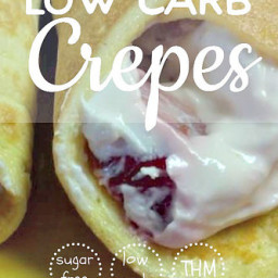 Low Carb Crepes [Wraps, Bread, and Lasagna Substitute]
