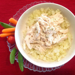 Low Carb Crockpot Ranch Chicken