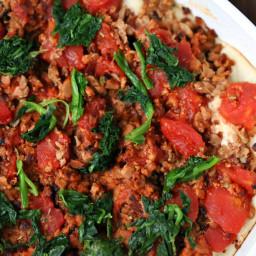 Low Carb Deep Dish Pizza Casserole
