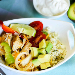 Low Carb Fajita Bowl Recipe