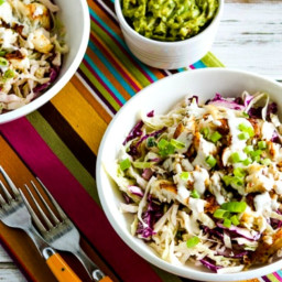 Low-Carb Fish Taco Cabbage Bowls (Video)