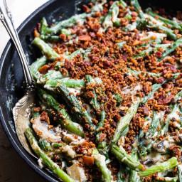 Low Carb Keto Green Bean Casserole