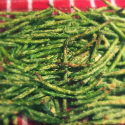 Low Carb Parmesan Cheese Grean Beans