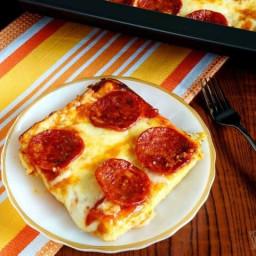 Low Carb Pizza Casserole - Gluten Free