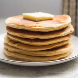 Low Carb Protein Pancakes – Peanut Butter Chocolate Chip [Recipe]
