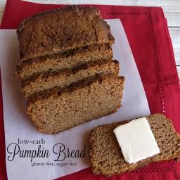 Low-Carb Pumpkin Bread