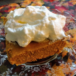 Low Carb Pumpkin Cheesecake Bars