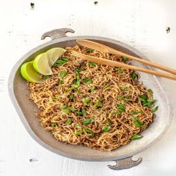 Low Carb Sesame Ginger Noodles