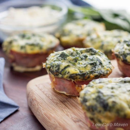 Low Carb Spinach Feta Quiche