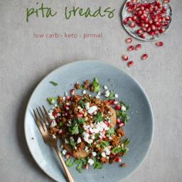 Low-Carb Turkish Lamb Pita Breads