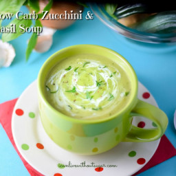 Low Carb Zucchini and Basil Soup