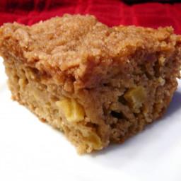 Low Fat Apple Crumb Coffee Cake