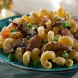 Low-Fat Creamy Mushroom Cavatappi