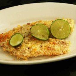 Low-fat Potato Crusted Fish