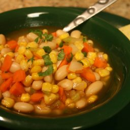 Low Fat Spicy Bean & Corn Stew