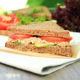 Low Fat Tuna Sandwich (Diabetic Option)