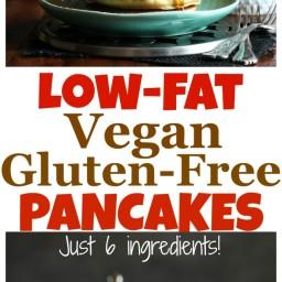Low-Fat Vegan Gluten-Free Pancakes