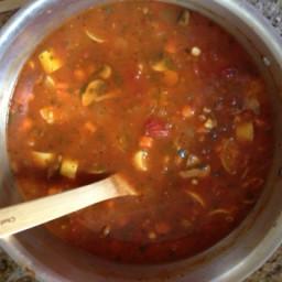 Low-fat Vegetable Soup
