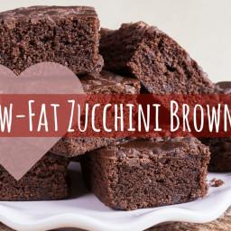 Low-Fat Zucchini Brownie