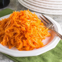 Low FODMAP Grated Carrot Salad