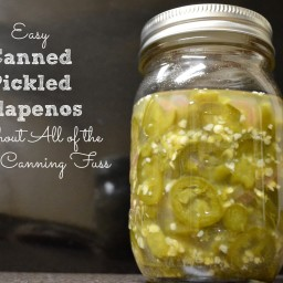 Low Sodium Pickled Jalapeños