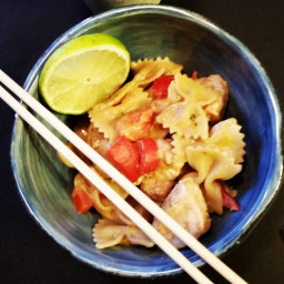 Low Sodium Thai Peanut Chicken Noodles