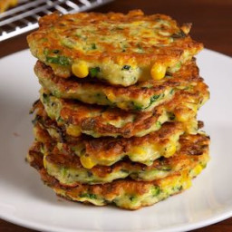Low Sodium Zucchini Hash Cakes [100mg Per serving]