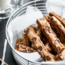 Low Fat Choc Chip Cookie Sticks