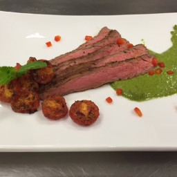 Low Sodium Chimichurri Flank Steak