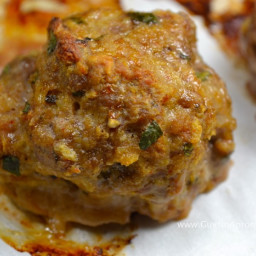 Luck Balls Are Meatballs of Lamb and Duck