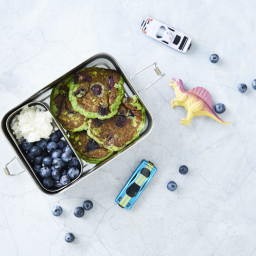 Lunchbox Blueberry Ricotta Pikelets