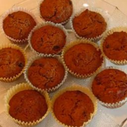 Lunchbox Carrot Bran Cupcakes
