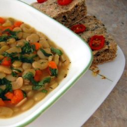 Luscious Lima Bean Soup