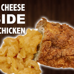 Mac and Cheese INSIDE Fried Chicken