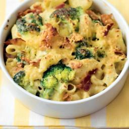 Mac 'n cheese met broccoli