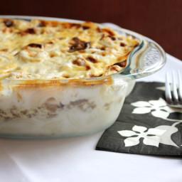 Macaroni with White Sauce