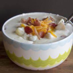Machine Shed Restaurant Baked Potato Soup
