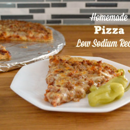 Made-From-Scratch Low Sodium Pizza Sauce