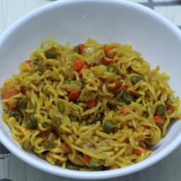 Maggi Masala Noodles Recipe   Vegetable Maggi