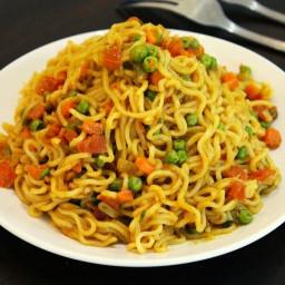 maggi noodles recipe, vegetable maggi recipe