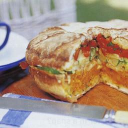 Maggie Beer's picnic loaf