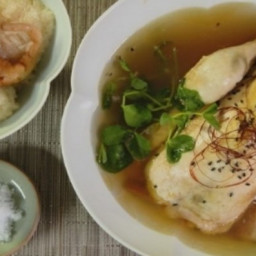 Magical Chicken Ginseng Soup